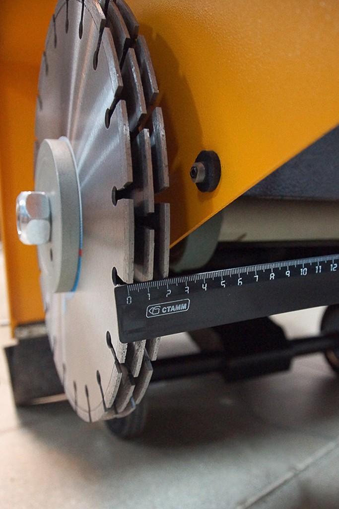 Модернизированный вариант резчика швов
