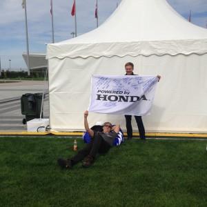 Конференция компании Honda