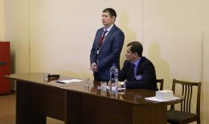 Ведущие семинара: президент Группы компаний СПЛИТСТОУН Зиганшин И.Т. и директор КЗТО Семёнов В.Н