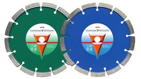 Отрезные диски TUCK-POINT для мокрой резки на раздельщики швов и трещин